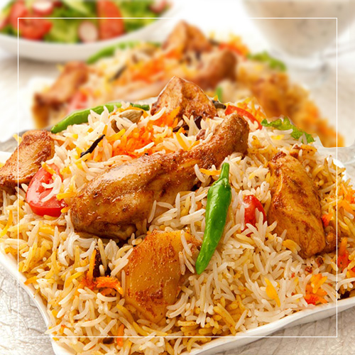 Chicken biryani on the bone lahore tika masala for Chicken biryani at home