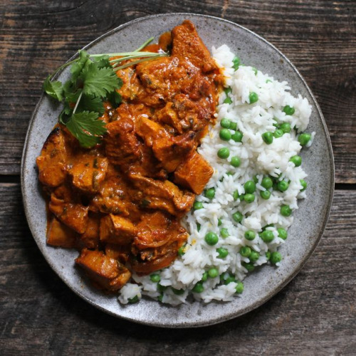 Chicken Tikka With Rice & Chips – Lahore Tika Masala